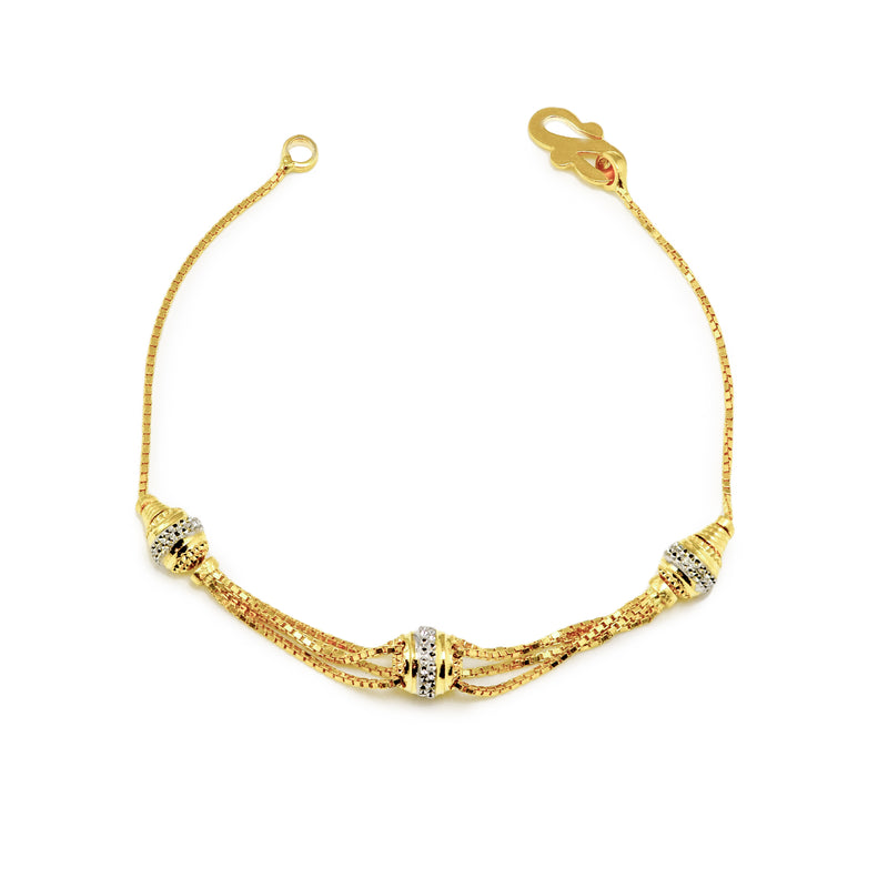 Three-Chains ladies bracelet
