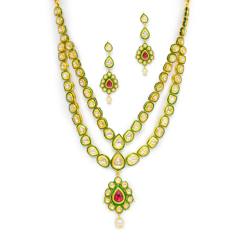Traditional Polki Necklace