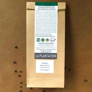 Organic Salted Fresh Kampot Pepper 50g
