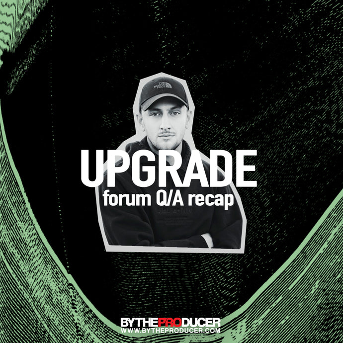 Upgrade dropped by for a Forum Q/A