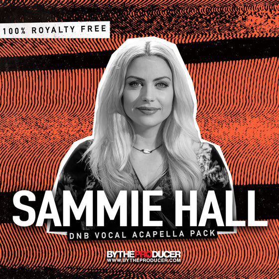 Sammie Hall: Vocal Sample Pack (Official)