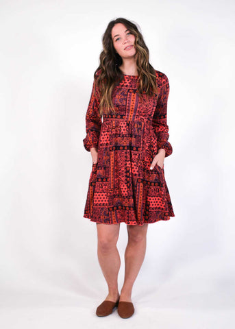 Julia Petite Floral Wrap Dress