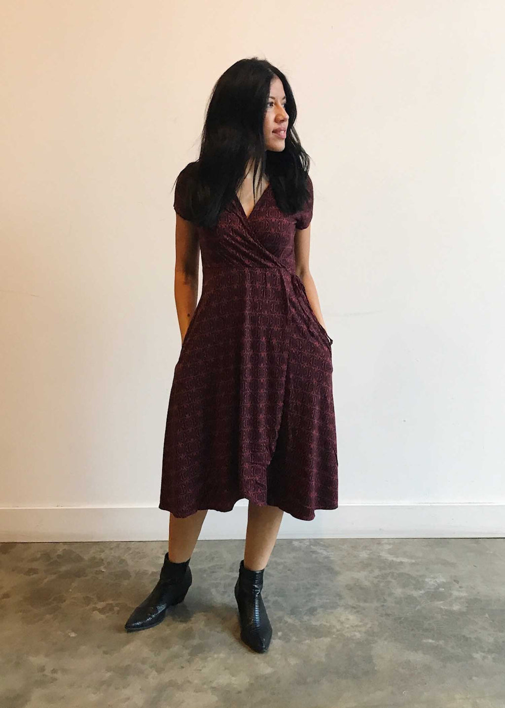 plume and thread-dress-ruby-julia fennel wrap dress