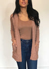 plume and thread-hoodies and cardigans-clay-maddie cardigan-front