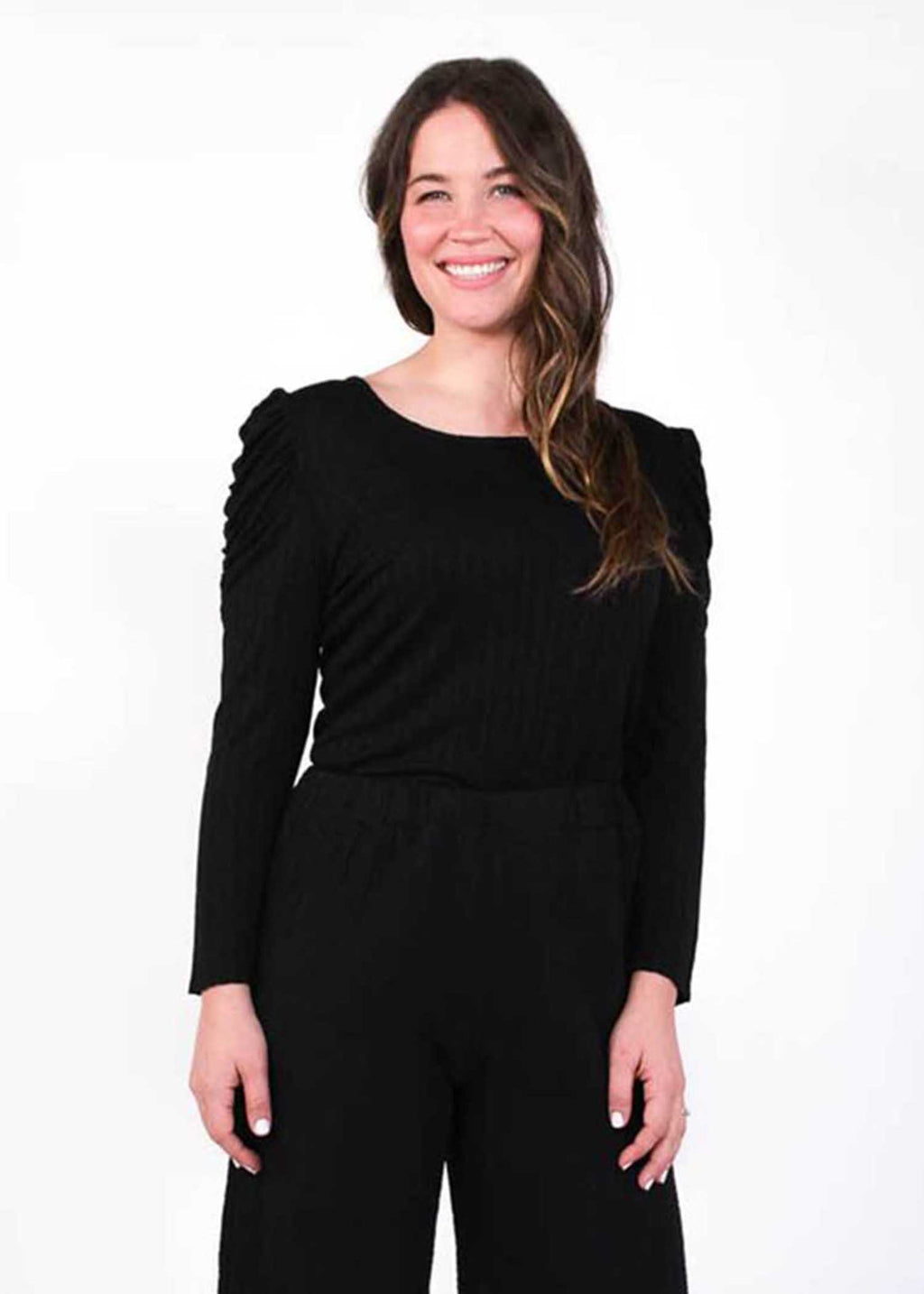 plume and thread-tops-black-juliette top
