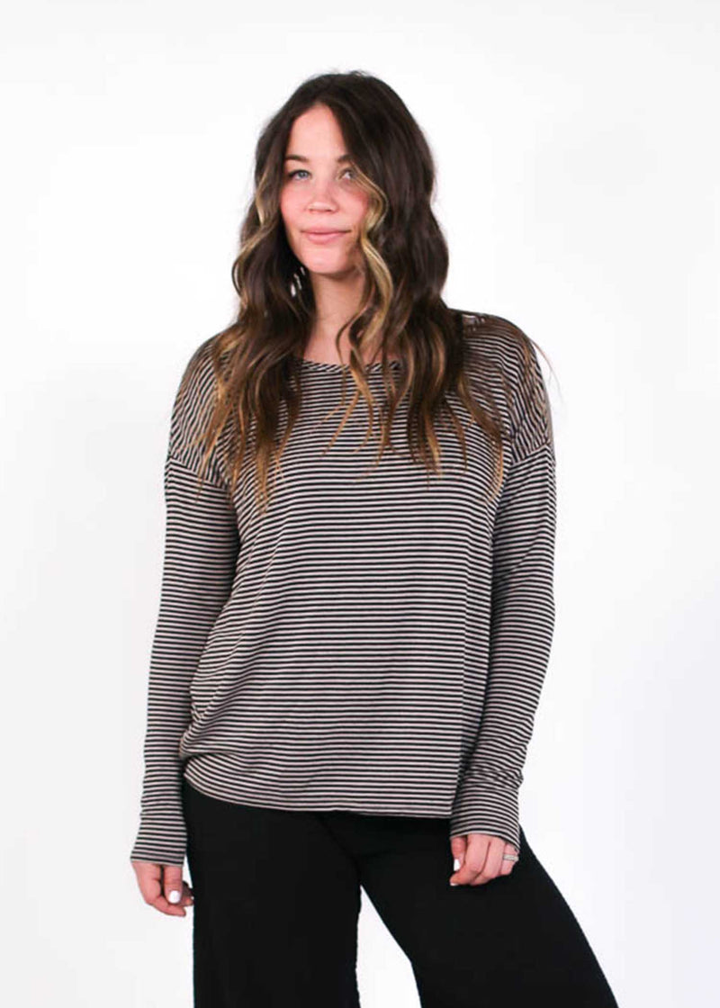 plume and thread-top-taupe-piper striped top