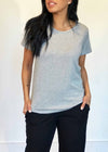 plume and thread-tops-grey-billie tee-front