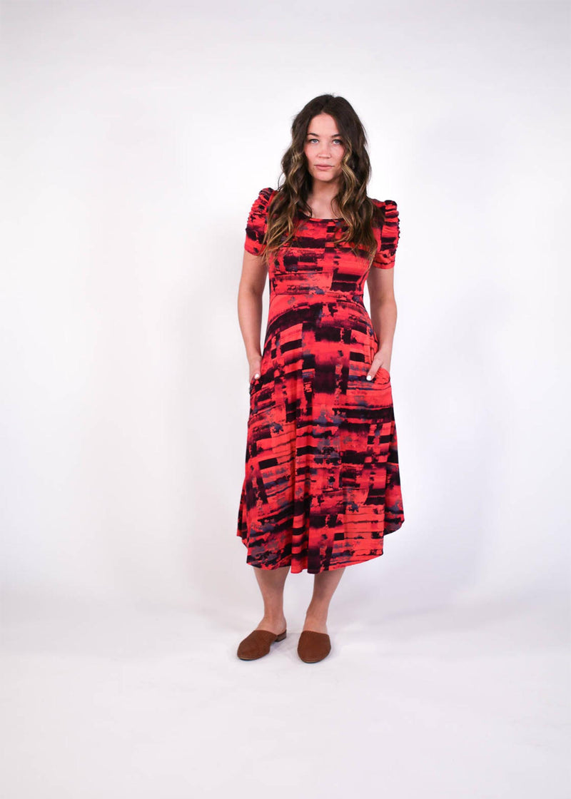 plume and thread-dress-fire red-lorelai