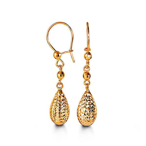 10K Yellow Gold Dangle 1003