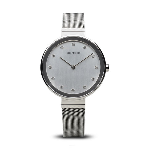 BERING Time Women's Classic Collection Watch with Mesh Band and Scratch Resistant Sapphire Crystal