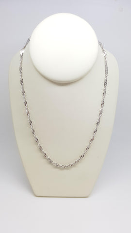 "18"" Singapore Sterling Silver Chain"