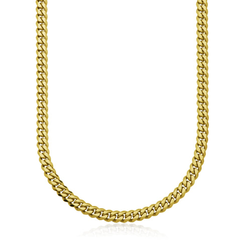 Steelx 10mm Yellow Plate Curb Chain
