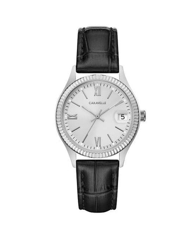 Caravelle Ladies Leather Watch