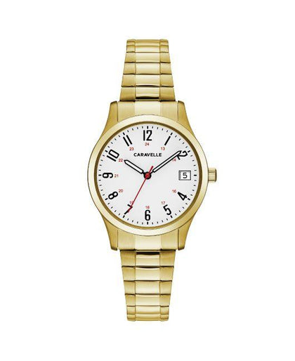 Caravelle Ladies Expansion Strap Watch