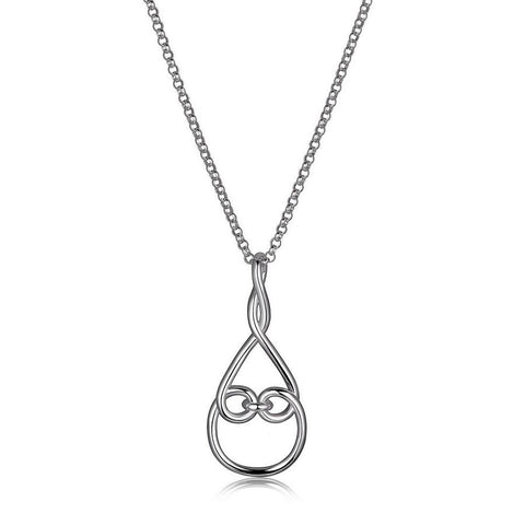 "Elle ""Joy"" Rhodium Necklace"