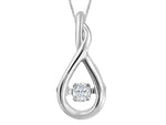"Canadian Diamond ""Dancing Diamond"" Necklace"