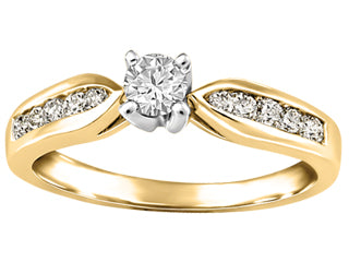 Fire and Ice Canadian Diamond Ring