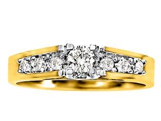 10K Gold Engagement RIng