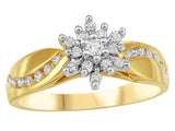 Ladies 10K Diamond Wedding Set