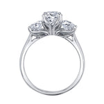 Maple Leaf Diamonds™ Eternal Flames™ Ladies Three Stone Ring