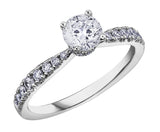 Maple Leaf Diamonds™ Circle of Love™ Ladies Engagement Ring