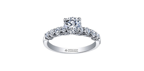 Maple Leaf Diamonds™ Tides of Love™ Ladies Engagement Ring