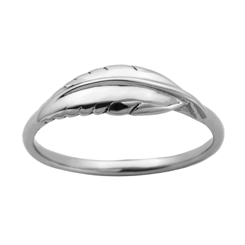 Steelx Feather Ring