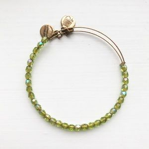 Alex and Ani Rock Candy Moss