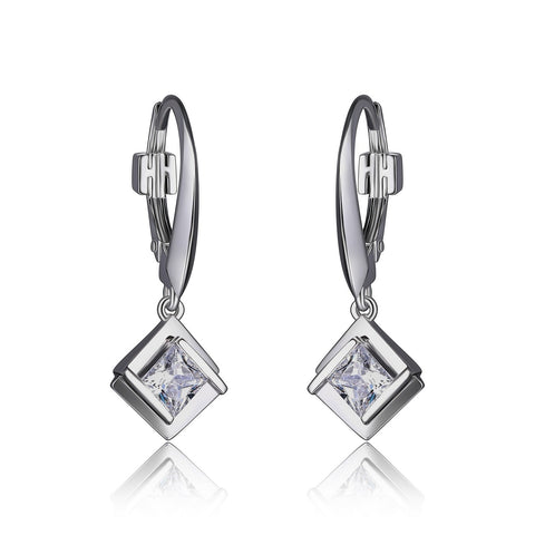 Elle Promise Square Earrings