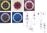 "20"" Mariner's Compass Template Set - Marti Michell"