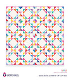RIPPLES QUILT PATTERN - MACHINE PIECED - PDF FILE ONLY