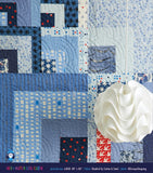 MIX + MATCH LOG CABIN QUILT PATTERN - MACHINE PIECED - PDF FILE ONLY