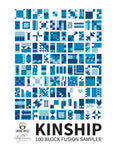 BUNDLE: Kinship: 100 Block Fusion Sampler - Machine Piece (HARD COPY) + Machine Piece (PDF)