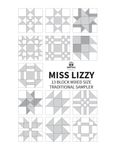 PDF: Miss Lizzy: Mixed Block Traditional Sampler