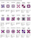 Perfect Patchwork Template Set B - Marti Michell