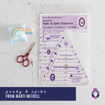 Peaky & Spike Multi-size Templates - Marti Michell