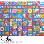 PDF: Kinship: 100 Block Fusion Sampler - Foundation Paper Pieced (FPP)