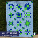 Miss Lizzy: Mixed Block Traditional Sampler - PDF