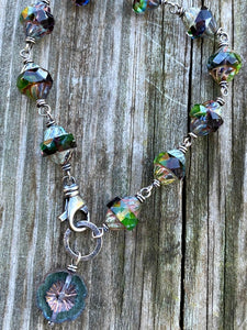 Mystic - Czech Glass and Sterling Silver Bracelet