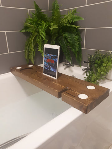 BARNHOUSE TABLET BATH BOARD