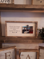 "Photo Frame - ""of all the things my hands have held, by far the best is you"""