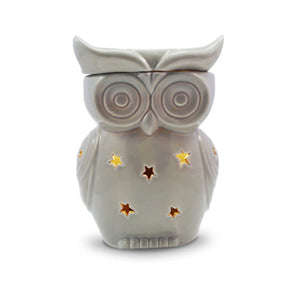 ELECTRIC WAX WARMER - GREY OWL