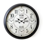 EXTRA LARGE MULTI CITY WALL CLOCK