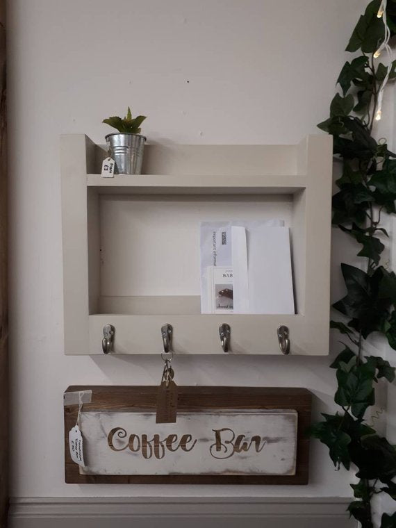 BARNHOUSE KEY & MAIL ORGANISER