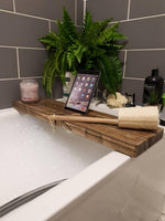 BARNHOUSE WOODLAND TABLET BATH BOARD