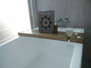 BOOK & TABLET BATH CADDY