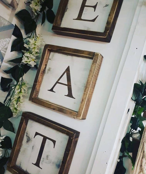 ONE LETTER SIGN