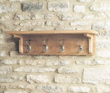 WOODLAND COAT HOOK & SHELF
