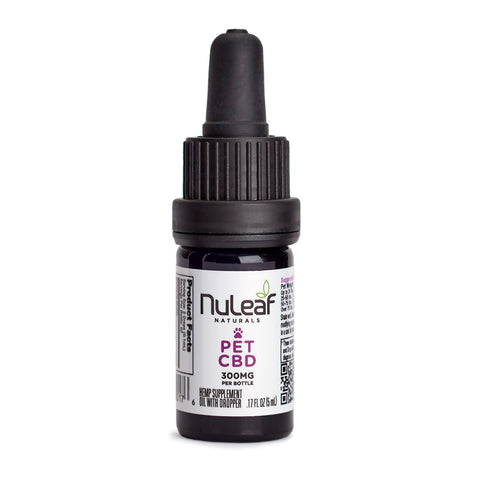 NuLeaf Organic Full Spectrum Hemp Oil with 60mg/ml for Pets.  5ml, 15ml and 30ml