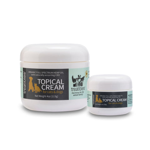 Treatibles Broad Spectrum Hemp Oil Topical Cream Feline and Canine